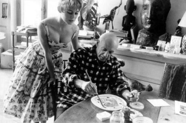 Brigitte Bardot & Pablo Picasso